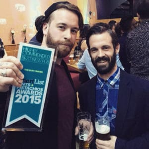 Shortlist Pint and Pistachios Awards 2015