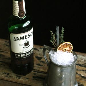 Jameson the sun irish whiskey in london for Good whiskey drinks for summer