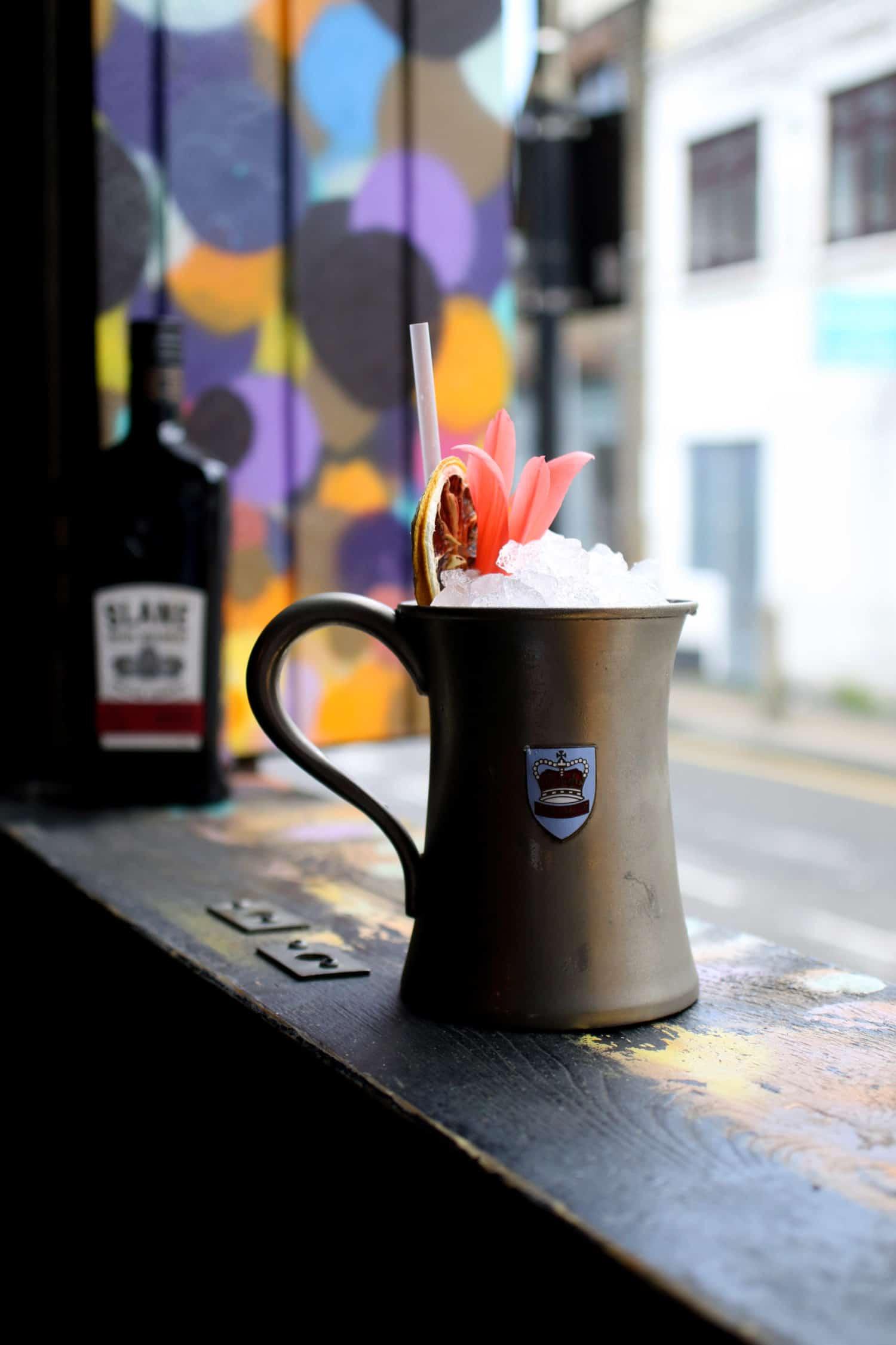 the sham rocker-london cocktail week-slane irish whiskey-the sun tavern-cocktail-bar-bethnal-green